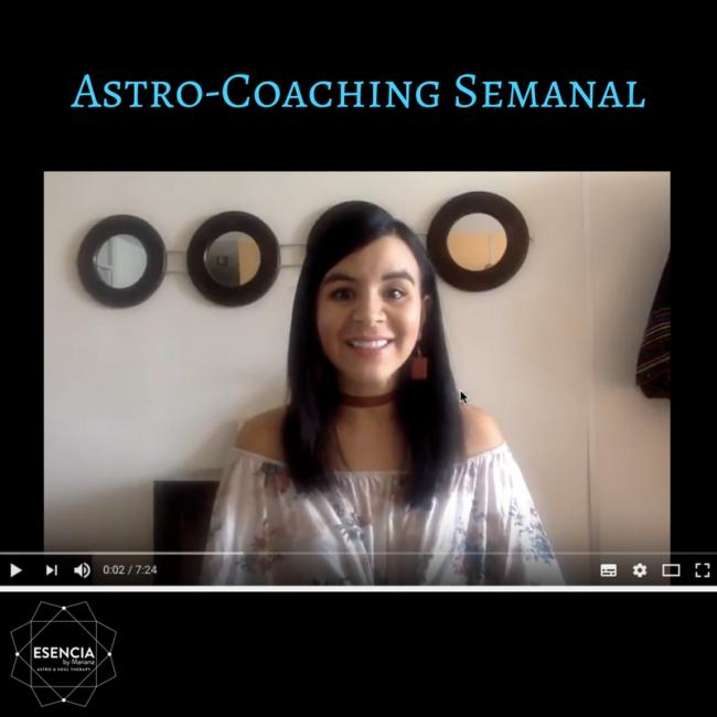 Astro-coaching del 15 al 21 de Mayo