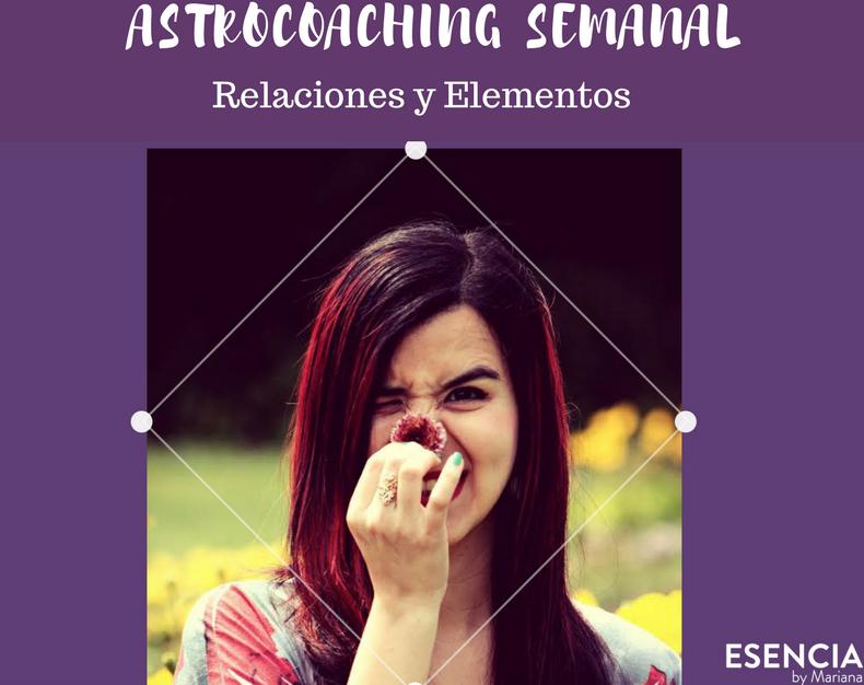 Astrocoaching Semanal: Relaciones y Elementos