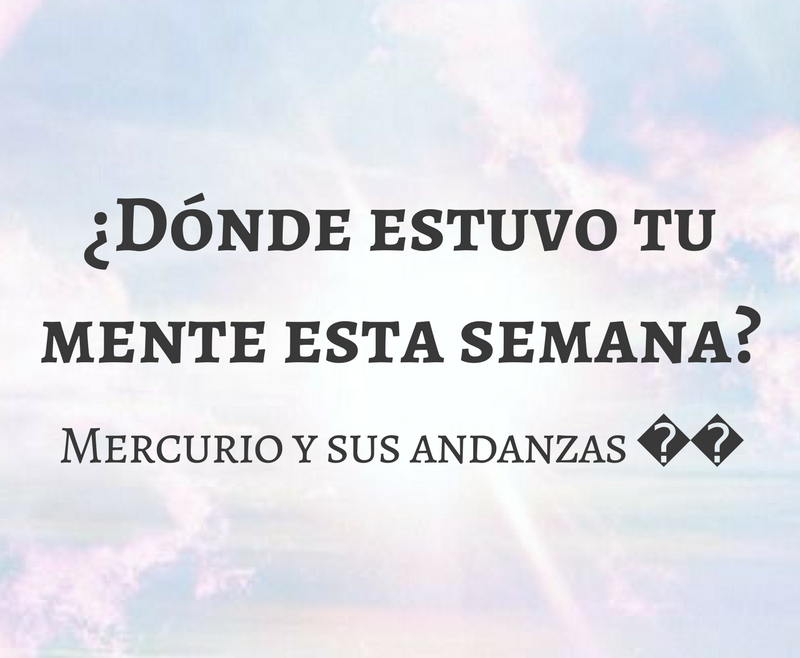 """LAS """"MOVIDAS"""" DE MERCURIO (PRE-ECLIPSE: 24 ENERO – 28 ENERO)"""