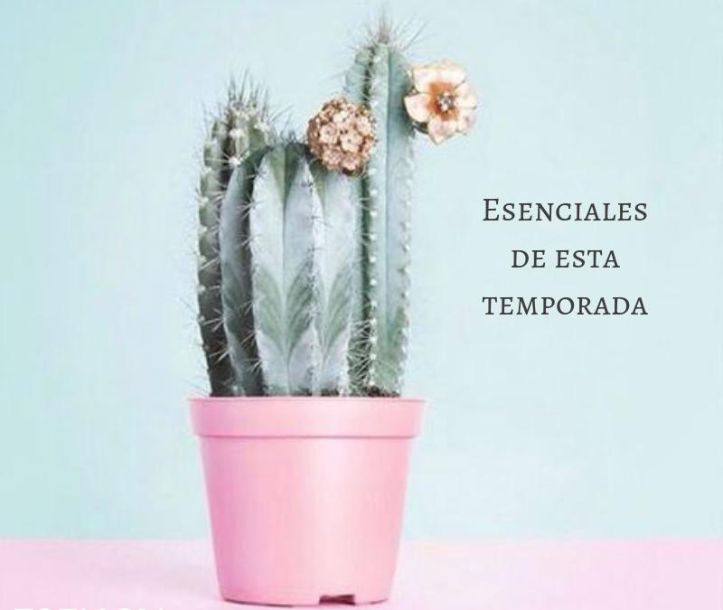 ESENCIALES DE ESTA TEMPORADA