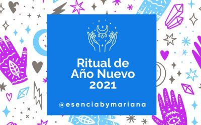 RITUAL AÑO NUEVO 2021